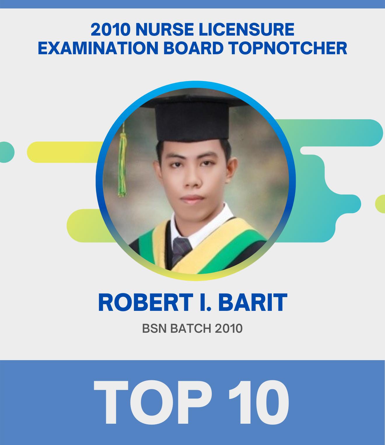 Top 10 - robert i. barit