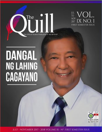 FIRST SEMESTER - THE QUILL 2017-18-01