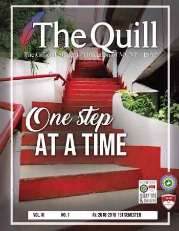 The Quill 1stSemIssue2018-19 jjEdit-01